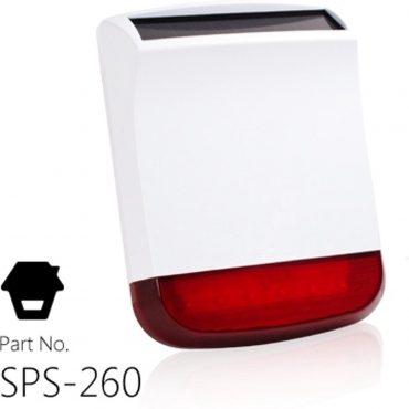 Sirena Ext Solar Chuango Sps-260 315 Mhz