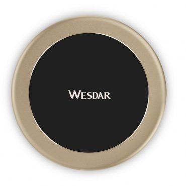 Cargador Inalámbrico Wesdar Wx2-1 Black/gold