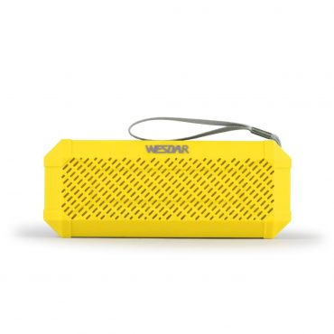 Parlante Portable Wesdar K6 Yellow