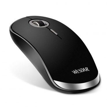 Mouse Inalámbrico Wesdar V1 Black/silver