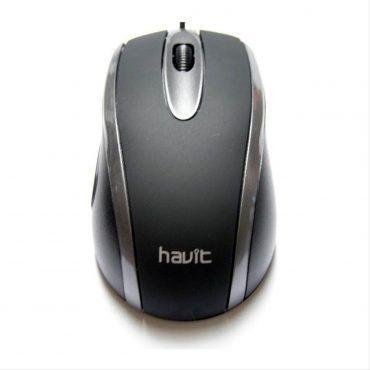 Mouse Havit Usb Ms753 Black/grey