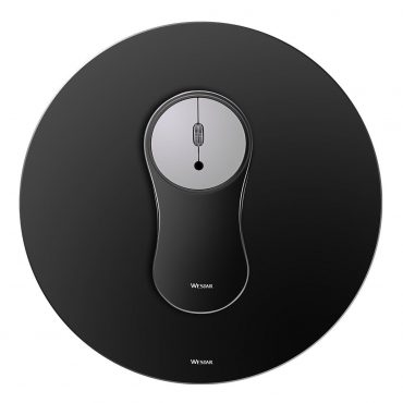 Combo Wesdar Aluminio Mp1 Mouse/mousepad Black