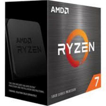 Cpu Amd Ryzen 7 5800x Am4 Box