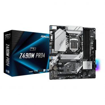 Motherboard Asrock Z490m Pro4 S1200