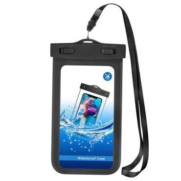 Estuche Wesdar Smartphones Ipx8 Para El Agua Black