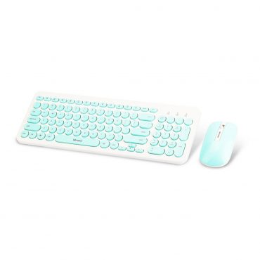 Combo Wesdar Teclado – Mouse Km1 Mint Green