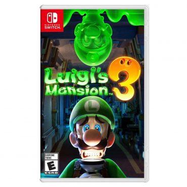 Juego Nintendo Switch Luigis Mansion 3
