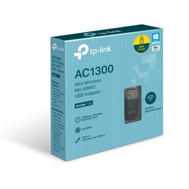 Tp-link Mini Adap. Usb Wifi Mu Mimo Ac1300