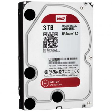 Hdd 3.5″ Wd Red 3tb Sata3 IntelliPower Rpm