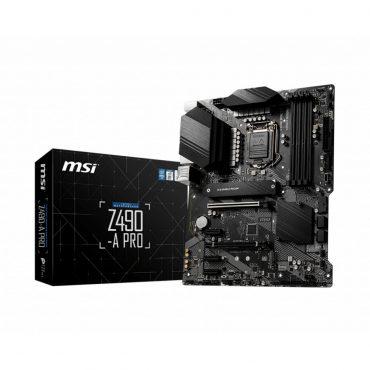 Motherboard Msi Z490-a Pro S1200 10ma Gen