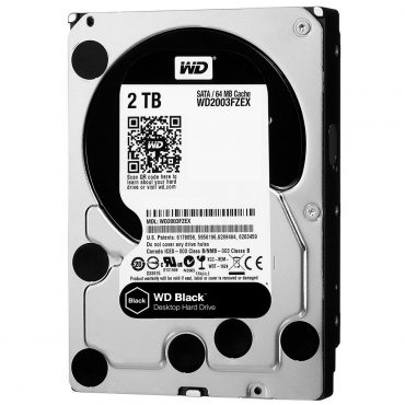 Hdd 3.5″ Wd Black 2tb Sata3 7200 Rpm