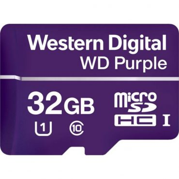 Memoria Micro Sd Wd Purple Sdhc 32gb