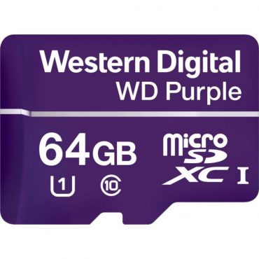 Memoria Micro Sd Wd Purple Sdxc 64gb