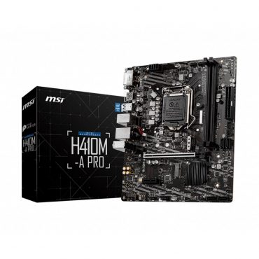 Motherboard Msi H410m-apro S1200 10ma Gen