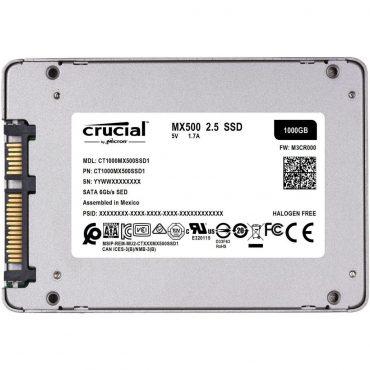Ssd Crucial Mx500 1tb Sata 2.5 6gb/s