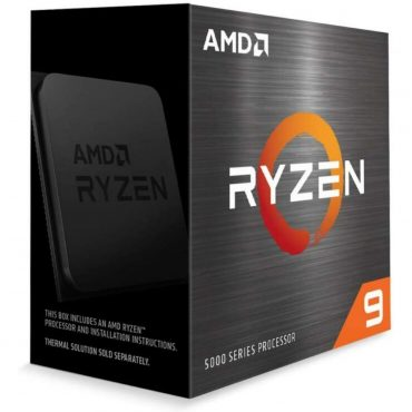 Cpu Amd Ryzen 9 5900x Am4 Box