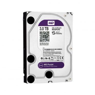 Hdd 3.5″ Wd Purple 3tb Sata3 IntelliPower Rpm