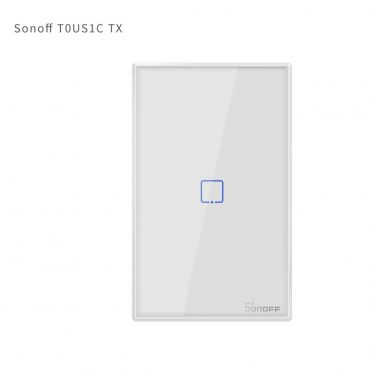Sonoff Interruptor De Pared 1 Botones Wifi