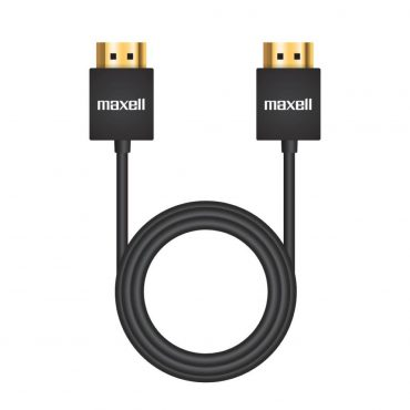 Cable Maxell Hdmi 1.4v Slim 3mts