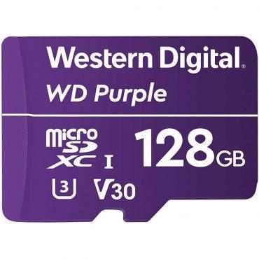 Memoria Micro Sd Wd Purple Sdhc 128gb 500cl