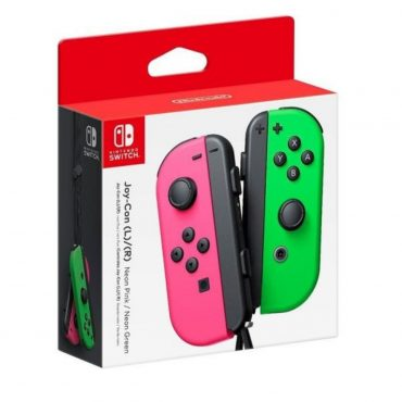 Joystick Nintendo Switch L/r Rosa Y Verde