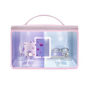 Caja Esterilizadora LED UVC Rosa