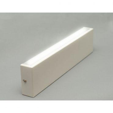 Luminaria De Pared Led Blanca 50cm