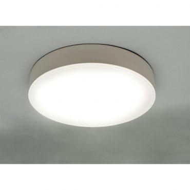 Luminaria De Techo Led White D30cm