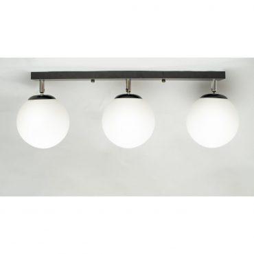Luminaria Negra X3 40cm