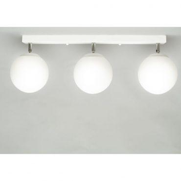 Luminaria Blanca X3 40cm