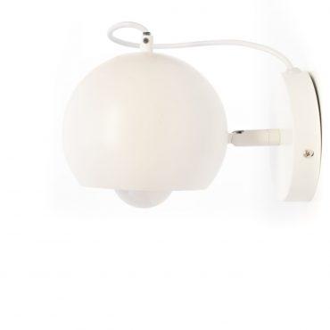 Luminaria De Pared Ovo Blanca D15cm