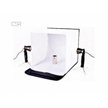 Set estudio fotogr?fico profesional port?til 40 cm + accesorios