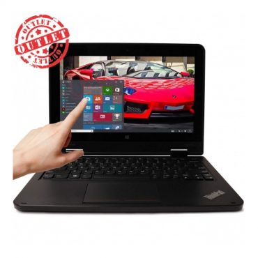 Notebook Convertible Lenovo Dualcore 2.16Ghz, 4GB, 128GB, 11.6″, Win10 Pro (con detalles)